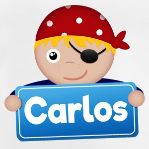 Little Pirate Carlos - Baby-T-shirt
