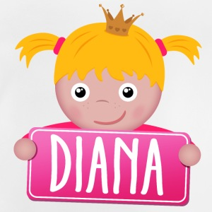 Little Princess Diana - Baby T-shirt