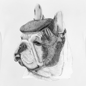 French Bulldog w/beret - Baby T-shirt
