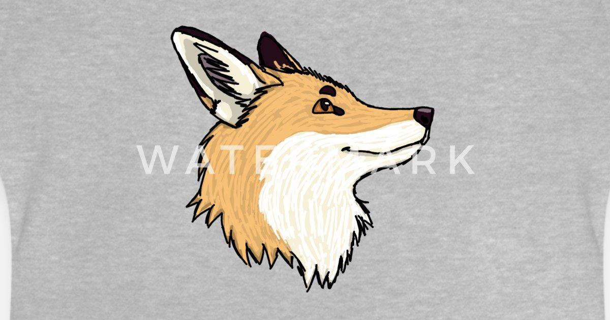 Renard Dessin Dessin Anime Renard Roux T Shirt Bebe Spreadshirt