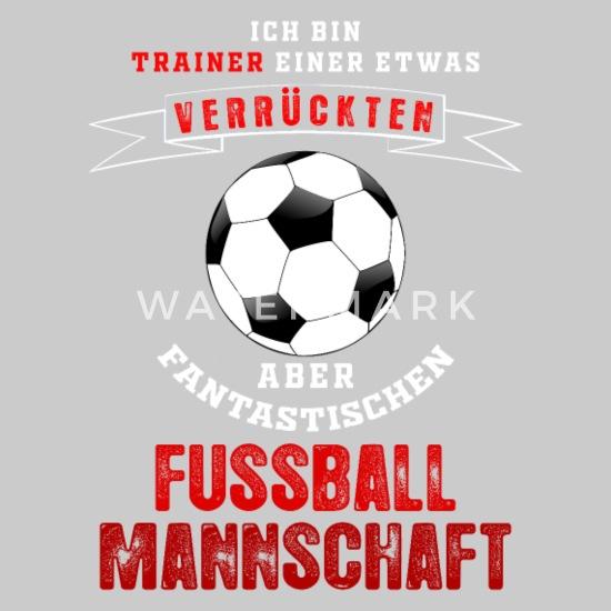 Fussball Trainer Mannschaft Team Verruckt Geschenk Baby T