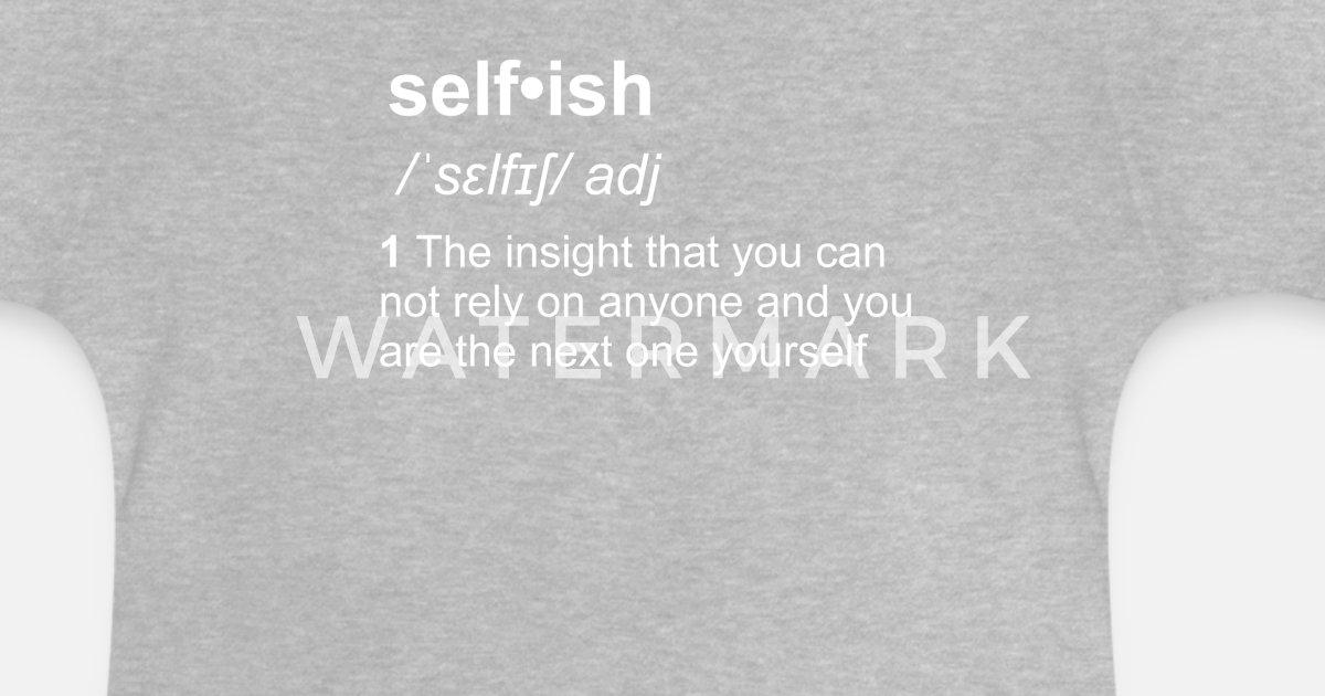 egoismus definition