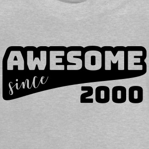 Awesome siden 2000 / Birthday-Shirt - Baby-T-skjorte