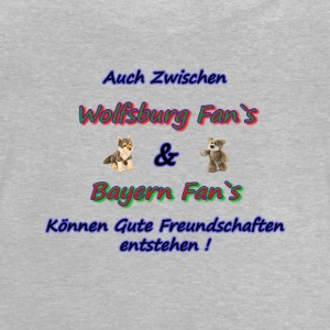Friendlies Wolfsburg Bayern fans - Baby T-Shirt