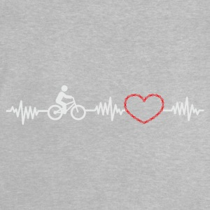 BIKE & HEART & LOVE - T-shirt Bébé