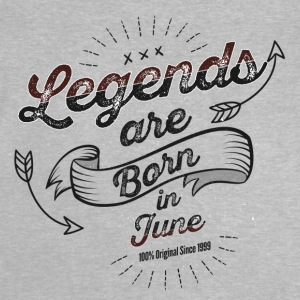 Legends are born in June birthday gift - Baby T-Shirt