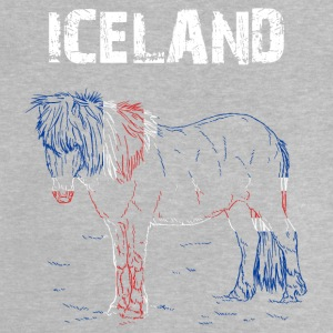 Nation-Design Islande Cheval - T-shirt Bébé