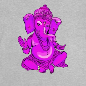 Ganesha pink yoga hindu india elephant god Namaste - Baby T-Shirt