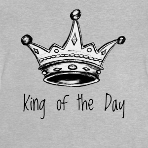 King of the Day - Baby-T-shirt