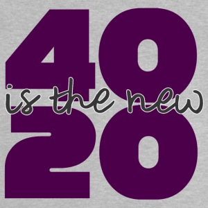 40. Geburtstag: 40 is the new 20 - Baby T-Shirt