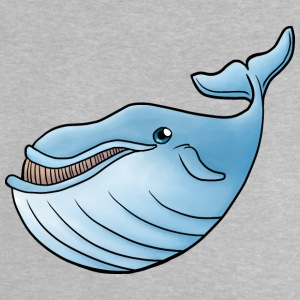 Little Blue Whale - Baby T-Shirt