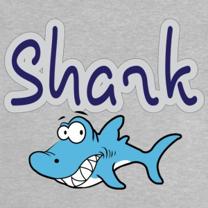 cartoon Shark - Baby T-Shirt