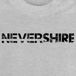 Nevershire lettering black - Baby T-Shirt