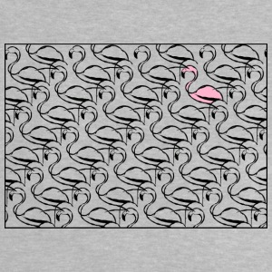 flamingos - Baby-T-shirt