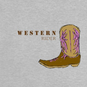 Western rider color - Baby T-Shirt