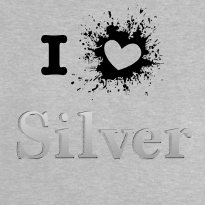 iLove silver SPRD - Baby-T-shirt