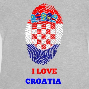 I Love Croatia - Baby T-Shirt