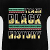 Teach Black History - dashiki african gift design - Baby T-shirt
