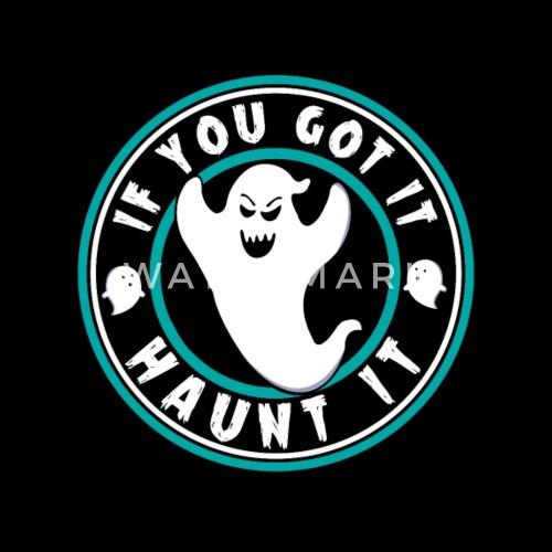 Verfolge Es Geist Spruch Halloween Kinder Baby T Shirt Spreadshirt