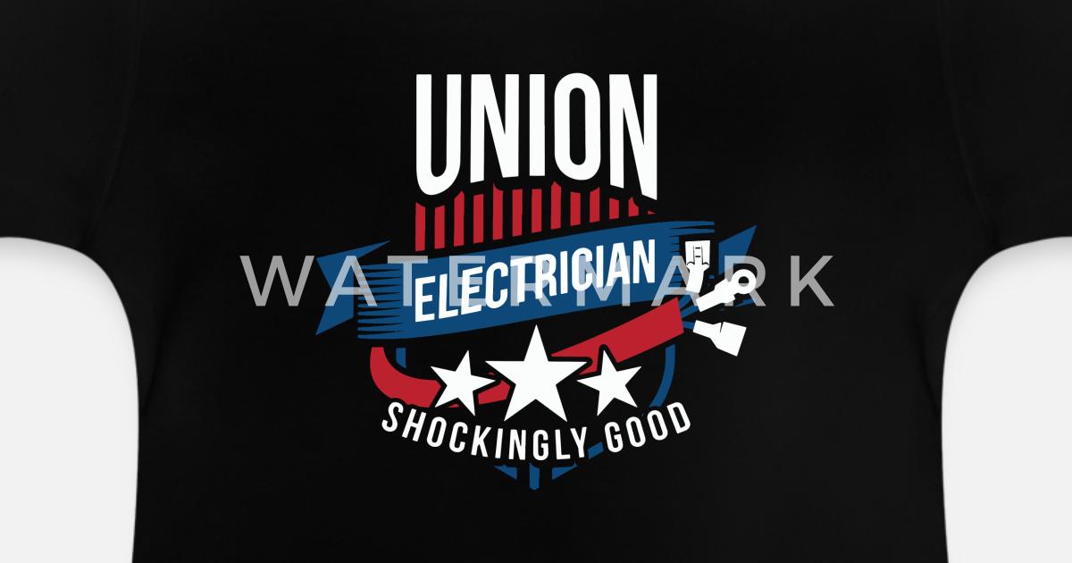 Ibew T Shirt Designs | Ibew Gewerkschafts Elektriker Geschenk Fur Elektrische Baby T Shirt