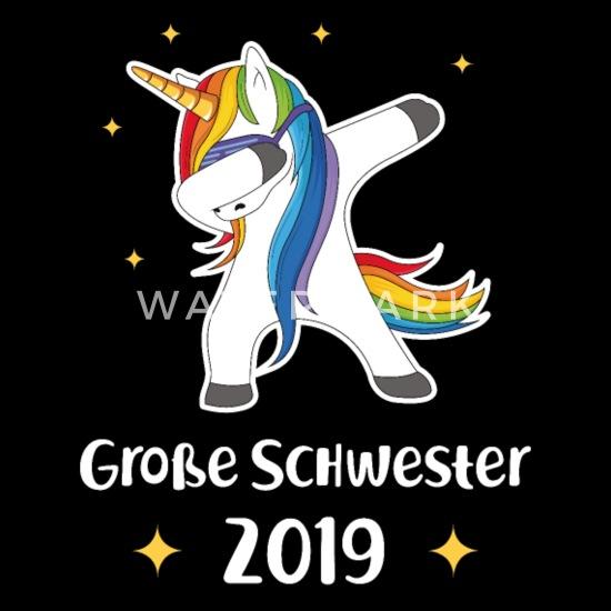Große Schwester Einhorn 2019 Geburt Geschenk Baby T Shirt
