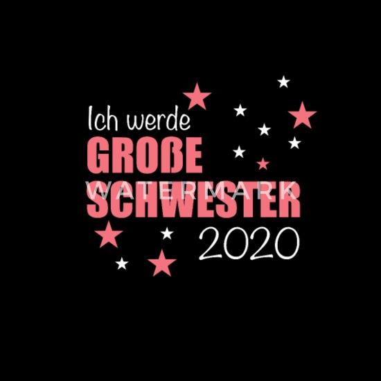 Große Schwester 2020 Geschenk Geburt Baby T Shirt Spreadshirt