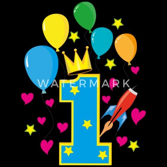 DANXIAN 1. Geburtstag Baby Dekoration, Deko Geburtstag, Grün Happy Birthday  Girlande Konfetti Luftballons Folienballon für Party Dekorationen:  Amazon.de: Küche & Haushalt