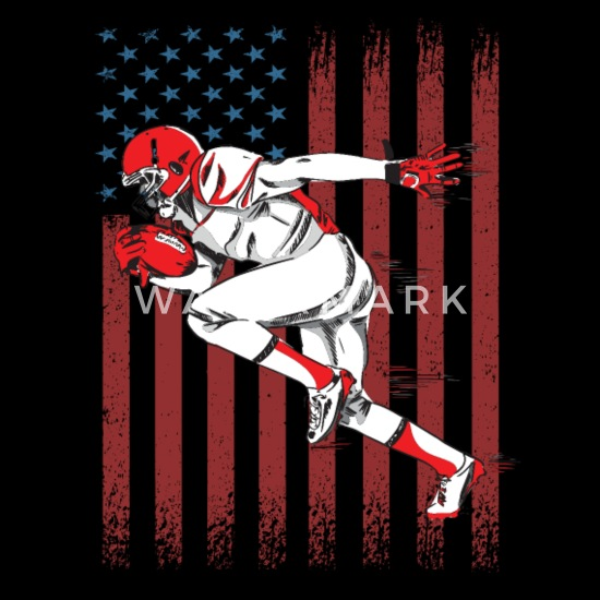 Amerikansk fotball Baby T skjorte | Spreadshirt