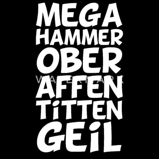 Mega Hammer Ober Affen Titten Geil Baby T Shirt Spreadshirt