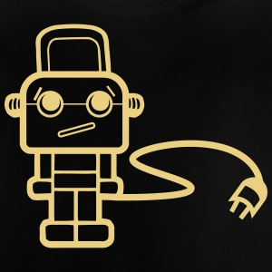 sad robot - Baby-T-shirt