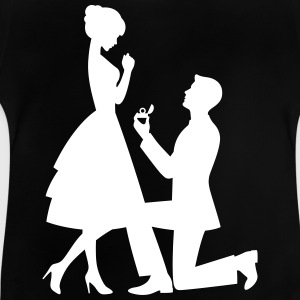 A Man Makes A Marriage Proposal - Baby T-Shirt
