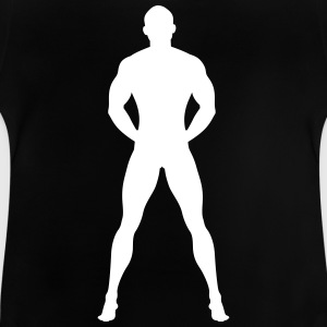 Naked And Muscular Man - Baby T-Shirt
