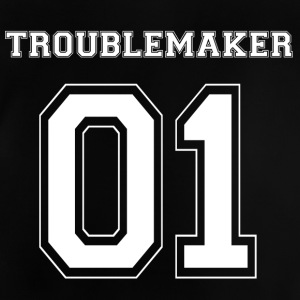 TROUBLEMAKER 01 - White Edition - Baby T-Shirt