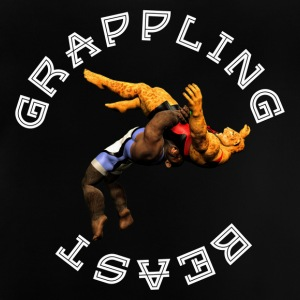 Grappling Beast (ape vs jaguar) - Baby T-Shirt
