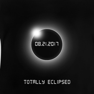 Totally Eclipsed-08.21.2017 - Baby-T-skjorte