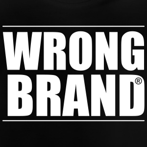Wrong Brand: the ultimate brand parody - Baby T-Shirt