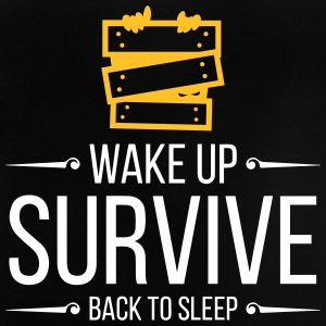 Wake Up. Survive. Back To Sleep. - Baby T-Shirt