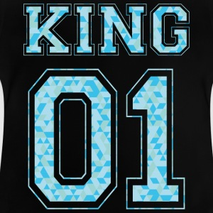 KING 01 - Blå Edition - Baby-T-shirt