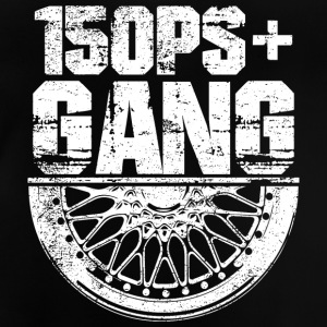 150 PS Gang White - Baby T-Shirt