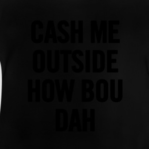 Bargeld Me Outside Schwarz - Baby T-Shirt