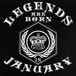 Legends January born birthday gift birth - Baby T-Shirt