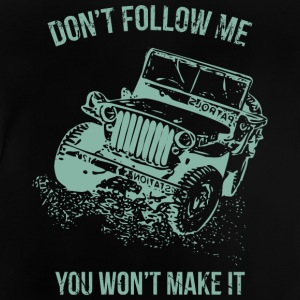 Follow Me Jeep Car - Baby T-shirt