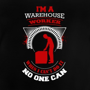 Warehouse Worker ontwerp - Baby T-shirt