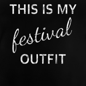 outfit festival - Baby-T-skjorte