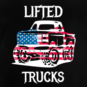 Lifted Trucks afgestemd offorad Jeep auto's - Baby T-shirt
