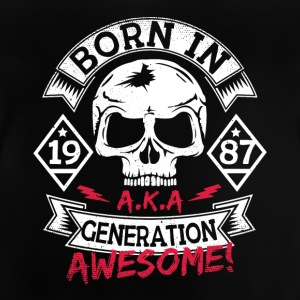 2 born in 87 - Baby T-Shirt