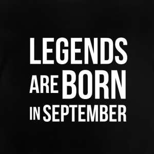 BDAY | LEGENDS född i september - Baby-T-shirt