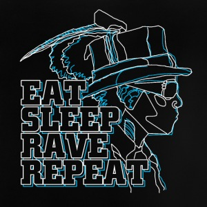 eat rave repeat - Baby T-Shirt