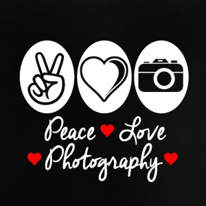 Peace Love Photography - Baby T-shirt