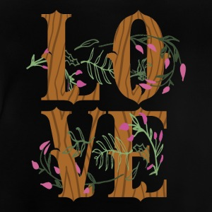 LOVE - Love är super cool! - Baby-T-shirt